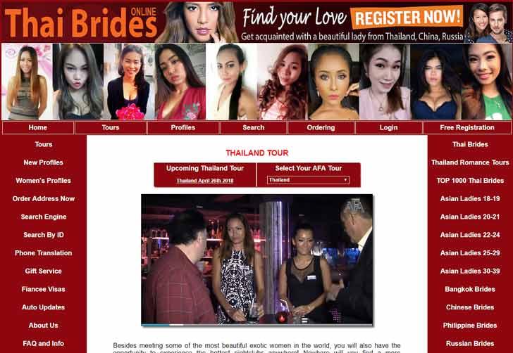 Thailand marriage tours